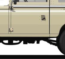 Series 3 Station Wagon 88 Limestone Sticker