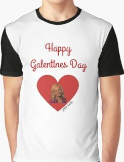 Galentines Day with Leslie: Parks & Recreation Graphic T-Shirt