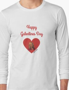 Galentines Day with Leslie: Parks & Recreation Long Sleeve T-Shirt