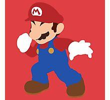 Smash Bros - Mario Photographic Print