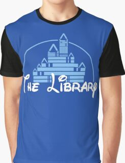 The Library Graphic T-Shirt