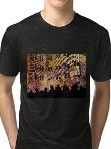 Vivid Crowds II Tri-blend T-Shirt