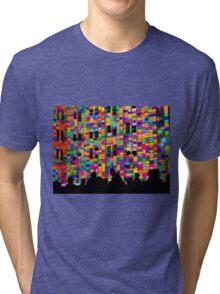 Vivid Crowds Tri-blend T-Shirt