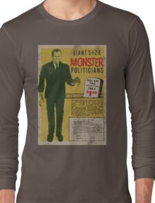 MONSTER PRESIDENTS Long Sleeve T-Shirt