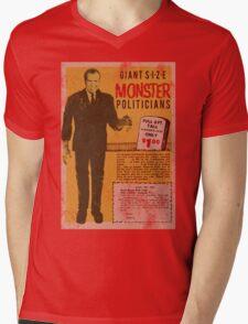 MONSTER PRESIDENTS Mens V-Neck T-Shirt