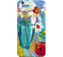 Bird Song, digital illustration by Alma Lee iPhone Case/Skin