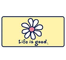 Life is Good + daisy by ymadison0160
