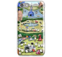 The Mallow Garden of Earthly Delights iPhone Case/Skin