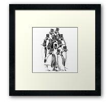 A Gathering of Gentlemen Framed Print