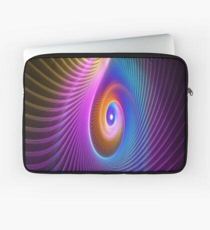 Rainbow Swirl Laptop Sleeve