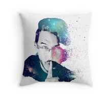 Quiet Galaxies - Markiplier Throw Pillow