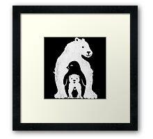 Arctic Friends Framed Print