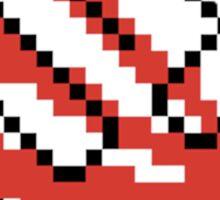JDM Rising Sun Pixel Art Sticker