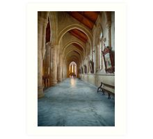 Sacred Heart Cathedral (SW) Art Print