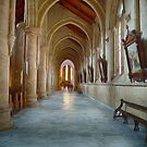 Sacred Heart Cathedral (SW) by Ray Warren