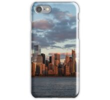 Sunset Over NYC iPhone Case/Skin