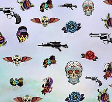 guns and roses  by motiashkar