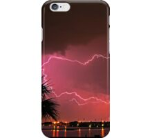 Watch the lightning crack over iPhone Case/Skin