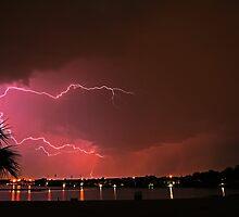 Watch the lightning crack over by Ersu Yuceturk
