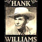 Hank Williams Vintage Digital Artwork by jerry2016