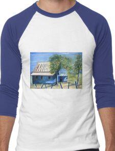 Australia: a long forgotten home Men's Baseball ¾ T-Shirt