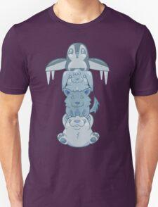 Cute Snow Totem Pole T-Shirt
