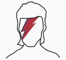 Bowie: Aladdin Sane Baby Tee