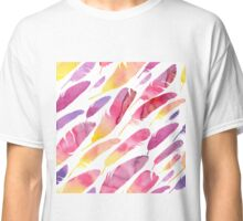 - Watercolor feathers 3 - Classic T-Shirt