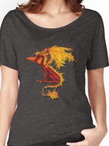 Maple Leaf Dragon Women's Relaxed Fit T-Shirt