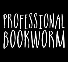 Professional Bookworm (inverted) by bboutique