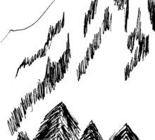 Desolation Peak_Alone Time Sticker