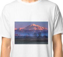 Pastoral Mount Baker Sunset Classic T-Shirt