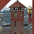 go by train by Bruce  Dickson