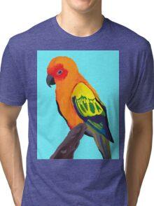 Sun Conure Portrait  Tri-blend T-Shirt
