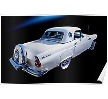 1956 Ford Thunderbird / Continental Poster