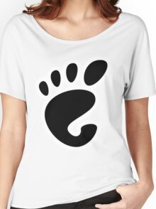 GnomeLinux Women's Relaxed Fit T-Shirt