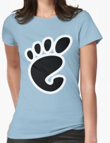 GnomeLinux Womens Fitted T-Shirt