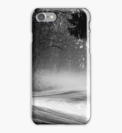 Snow - blustery day (2012) iPhone Case/Skin