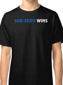 Sub-Zero Wins Classic T-Shirt