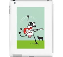 Who the moo are you?! iPad Case/Skin