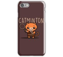 Catminton iPhone Case/Skin