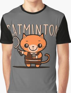 Catminton Graphic T-Shirt