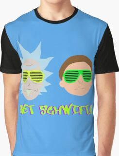 Rick and Morty - Get Schwifty Graphic T-Shirt