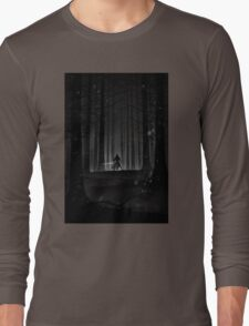 Kylo Ren forest print Long Sleeve T-Shirt