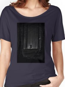 Kylo Ren forest print Women's Relaxed Fit T-Shirt
