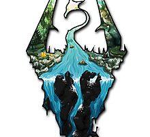 Skyrim Logo by Park Jennifer