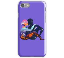 love beyond the galaxy iPhone Case/Skin