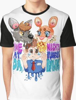 Five Nights At Furry's Graphic T-Shirt