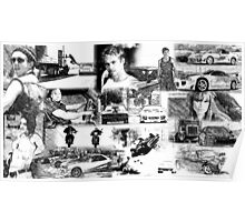 The Fast and the Furious Collage Poster