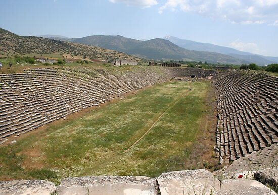 The Aphrodisias Stadium (From the West) by taiche